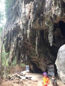 Thailand flowstone